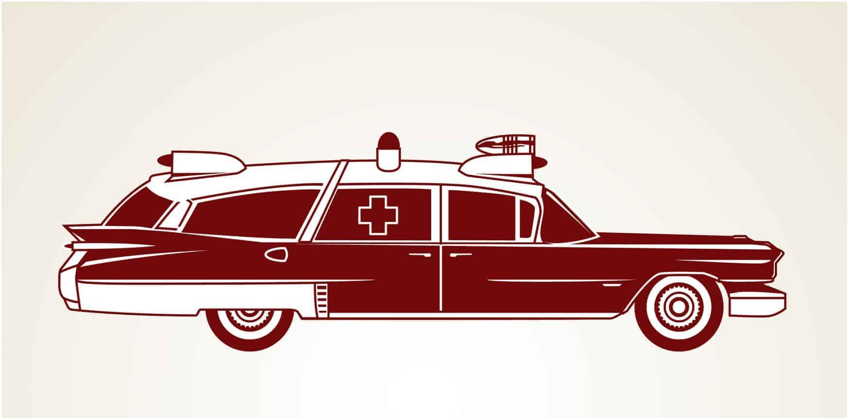 Vintage Krankenwagen