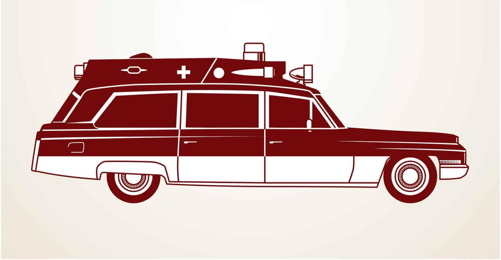 Vintage Krankentransport